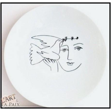 Femme et l'oiseau