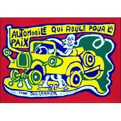 Automobile qui roule pour la Paix (2002)